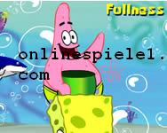 Sponge Bob shell throwing spiele online